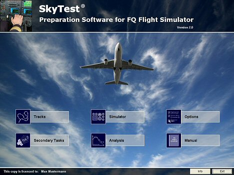 FQ-Simulator Menü 468 English