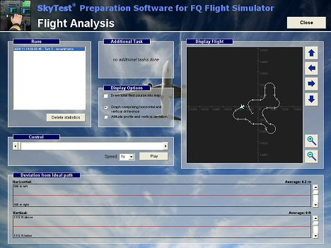 FQ-Simulator Fluganalyse 468 English